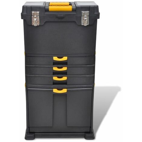 Tool Case Chest Tool Trolley Portable QAH03761