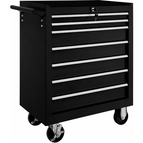 Tool chest with 7 drawers - tool box, tool box on wheels, tool cabinet