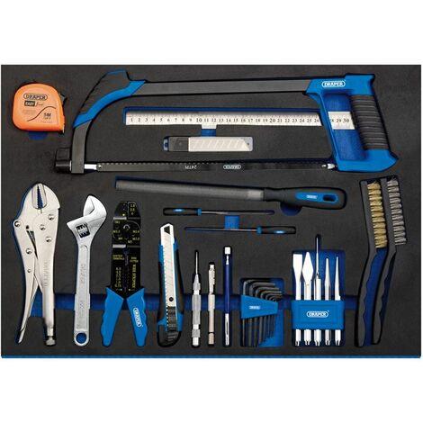 Tool Kit in Full Plus Drawer EVA Insert Tray (36 Piece) (63547)
