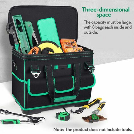 Tool Kit Special Electrician's Tool Kit Large Canvas Thickened Tool Bag (20 inch)