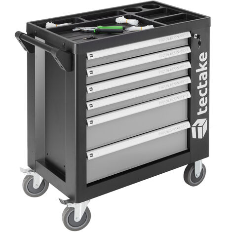 Tool trolley with tools 1399 PCs. - grey
