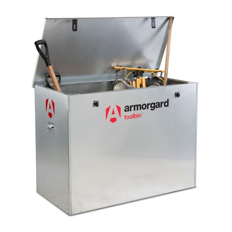 Image of Armorard Toolbin GB3 Lightweight Secure Storage Bin - 1190 x 585 x 850mm
