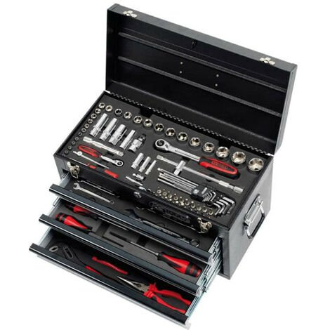 Toolbox equipped with KS TOOLS Ultimate - 114 pcs - 922.0100