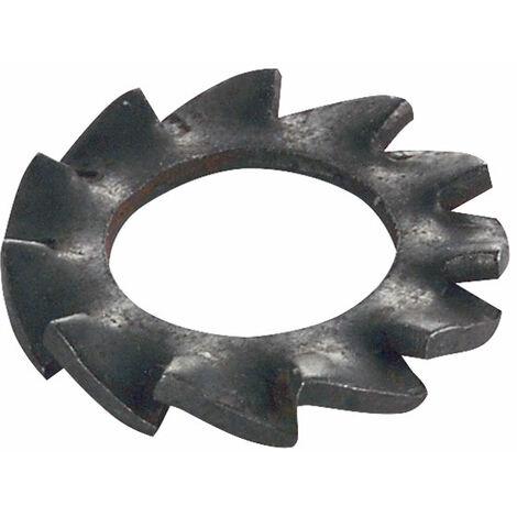 Toolcraft 194755 Spring Steel Fan Type Lock Washers Form A DIN 6798 M5 Pk 100