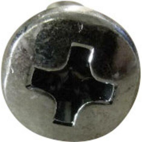 500 Inbus Linsenkopfschrauben ISO 7380-1 10.9 verzinkt M5x16