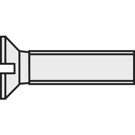 M3 x 20 Senkschraube Senkkopf DIN963 Polyamid Kunststoff PA6.6 Schraube 20 Stück