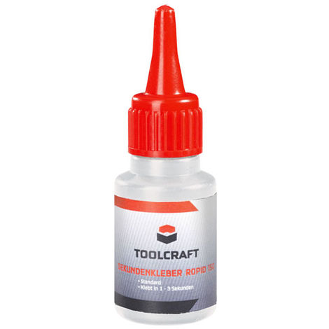 Toolcraft Superglue Rapid 150 20g