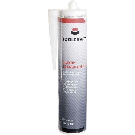 TOOLCRAFT Transil Silikon Herstellerfarbe Transparent SIT.K310 310ml C07347