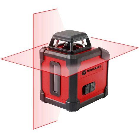 TOOLCRAFT;Laser a linee360° autolivellante;HLL360;Raggio di azione (max.): 20 m;Calibrato: di fabbrica senza