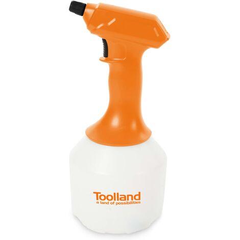 Toolland Battery-powered Pressure Sprayer 1 L - Multicolour