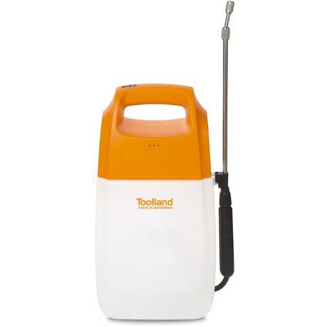 Toolland Battery-powered Pressure Sprayer 6 L - Multicolour