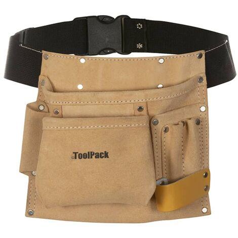 fashion style vasta selezione selezione premium Toolpack Cintura Porta Attrezzi in Pelle con 1 Tasca Regolare 366.010