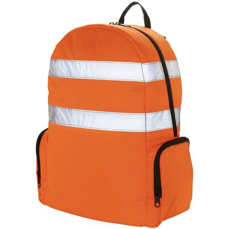 Toolpack High-Visibility Tool Back-pack Glance Orange and Black