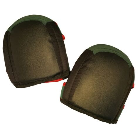 Toolpack Knee Pads Pro Coal Black and Green