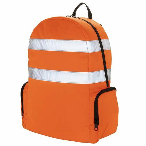 Toolpack Mochila de herramientas alta visibilidad Glance naranja negro - Naranja