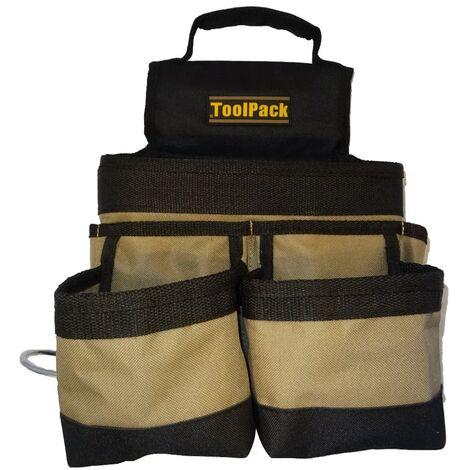 Toolpack Multi-carry Tool Holder Deport Black and Khaki