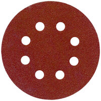 Toolpak 8 Hole Sanding Discs 115mm Pack Of 10 (Various Grits)