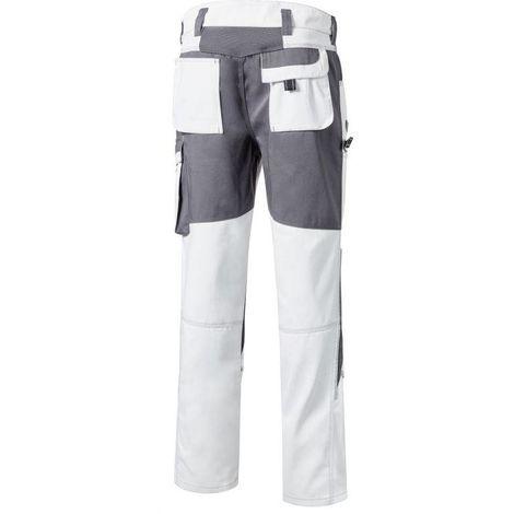 TOOLS pantalon de travail peintre blanc PIONIER