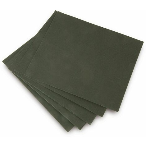 Tooltech Schleifpapier-Set, 275x225mm, wasserfest, P80/P180/P320, 15 Bögen
