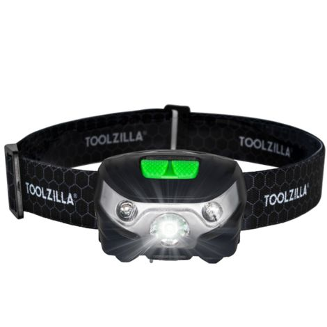 TOOLZILLA USB Rechargeable LED Head Torch