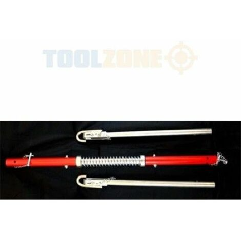 Toolzone 2 Ton Vehicle Tow Bar With Spring Damper Overall length 1828mm