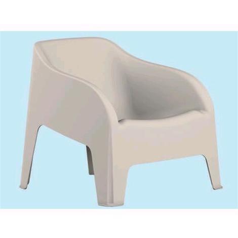 Sedie Di Resina Da Giardino.Toomax Poltrona Sedia Da Giardino In Resina Petra Z185 Colore Bianco