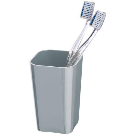 Toothbrush tumbler Candy Grey WENKO