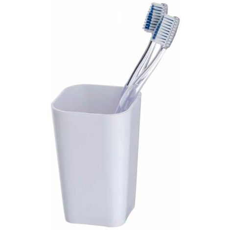 Toothbrush tumbler Candy White WENKO