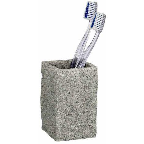 Toothbrush tumbler Granite WENKO