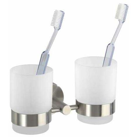 Toothbrush tumbler holder Duo Bosio Matt WENKO