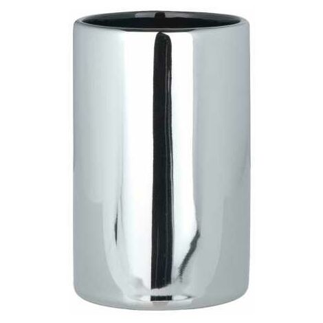 Toothbrush tumbler Polaris Chrome WENKO