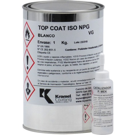 Top Coat ISO NEO Blanco Leyser