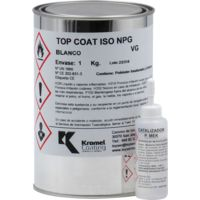 Top Coat ISO NEO Blanco Leyser