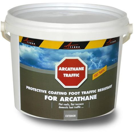 ARCATHANE TRAFFIC- Top coat paint to apply over the ARCATHANE waterproof membrane to render it for foot traffic | Beige near RAL 1001 - 4 kg