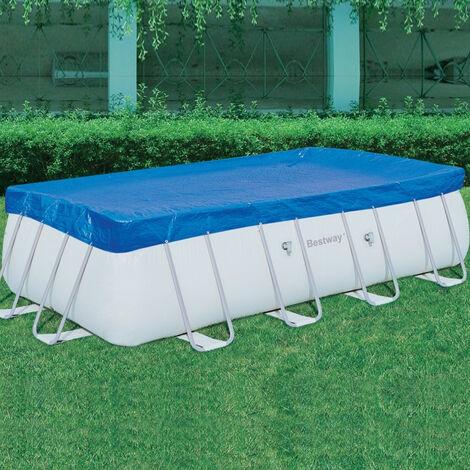 Top di copertura 549x274 cm ideale piscine rettangolari