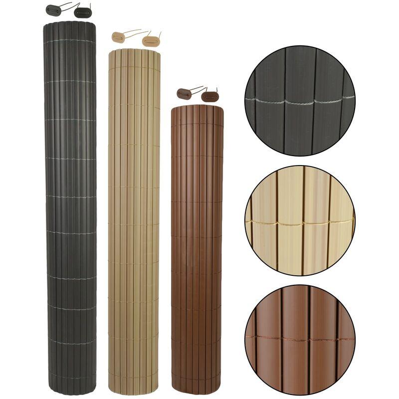 Befestigungsset Windschutz Zaunblende Matte PVC Sichtschutz Balkonblende inkl