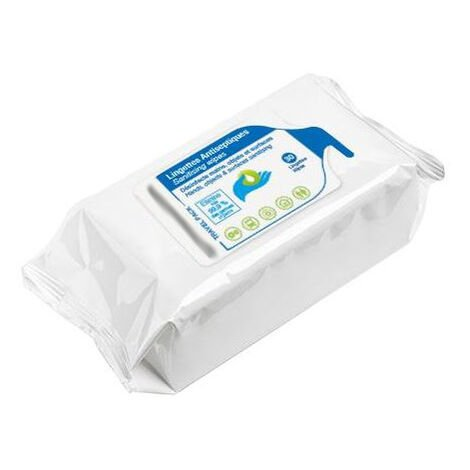 TOPCAR - 30 lingettes désinfectantes avec solution hydroalcoolique - 04TT1130