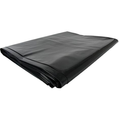 TOPCAR - Carton de 100 sacs poubelles 130 litres Gris/noir - SI008170