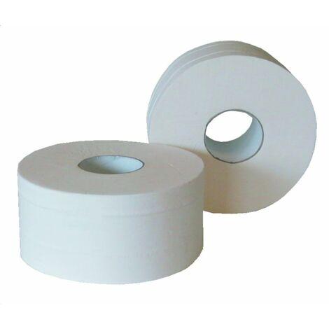 TOPCAR - Colis de 6 rouleaux de papier toilette (WC) - Maxi Jumbo blanc - I263L