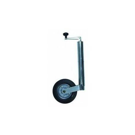 TOPCAR - Roue jockey pour remorque - Charge 150 kg - 16549