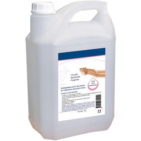 TOPCAR - Solution hydroalcoolique désinfectante - 5 litres - 002315001