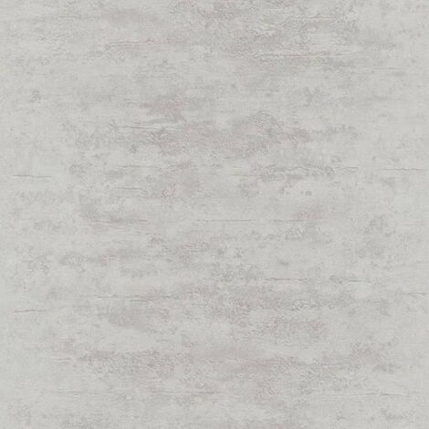 Topchic Wallpaper Concrete Style Grey and Silver - Grey