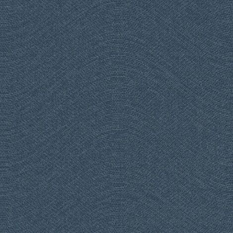 Topchic Wallpaper Knitting Style Blue