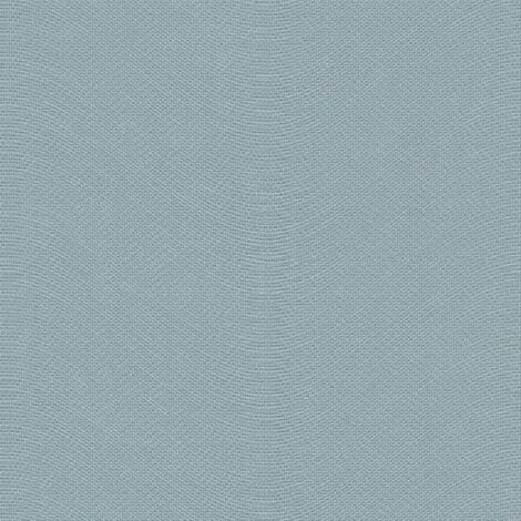 Topchic Wallpaper Knitting Style Blue and Silver