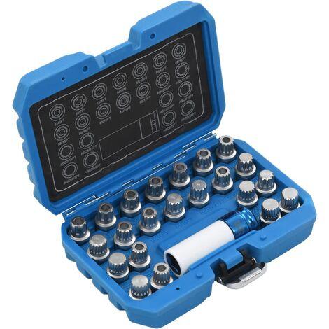 Topdeal 23 Piece Rim Lock Socket Set for VAG VDTD07920