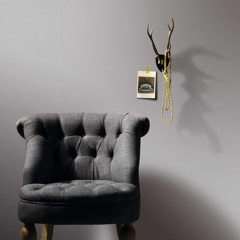 Topdeal 4 pcs Wallpaper Rolls Plain Shimmer Light Grey 0.53x10 m VDTD35514