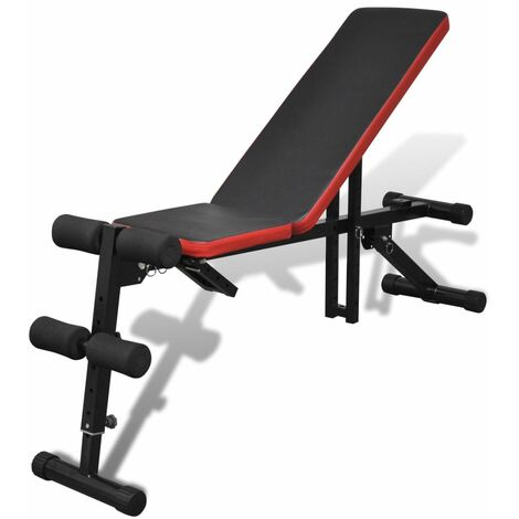 Topdeal Adjustable Sit Up Bench Multi-Position VDTD32089