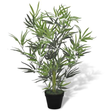 Topdeal Artificial Bamboo Tree with Pot 80 cm VDTD08716