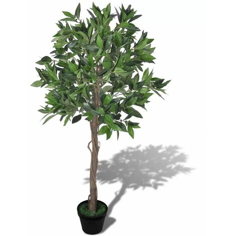 Topdeal Artificial Bay Tree with Pot 120 cm VDTD08721