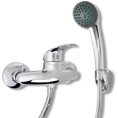 Topdeal Bad Dusche Mischbatterie Set Chrom 03727